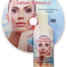 Выведение и осветление татуажа