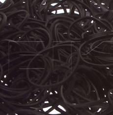 Black 12 Rubber Bands - Pkg. 1000