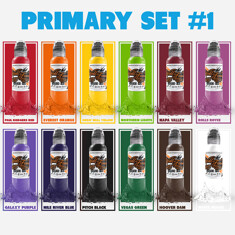 12 Color Primary Set #1