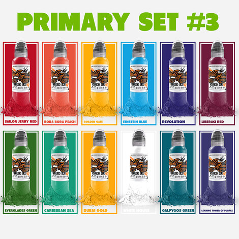 Color Primary Set #3 - 12шт