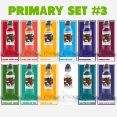 12 Color Primary Set #3