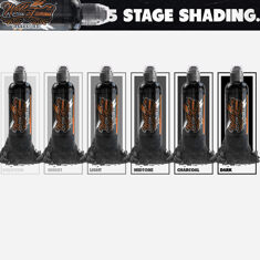 FIVE-STAGE SHADING SET - 6шт