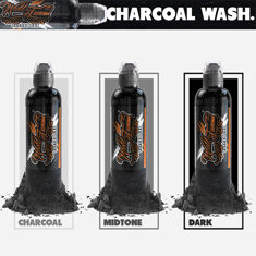 World Famous Charcoal Greywash Set 3