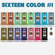 World Famous 16 Color Ink Set #1