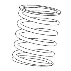 No. 28 - Retainer screw spring