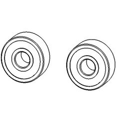 No. 67 - Cam bearings (2 pcs)