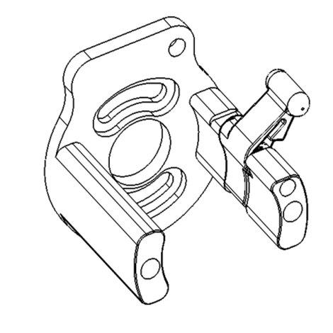 Зап. части DragonFly - Stingray No. 75 - Motor bracket assembly