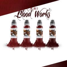 Big Joel's Blood Works Color Set - 4шт