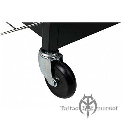 Мебель для тату салона Рабочая станция-стол Long-Lux Black