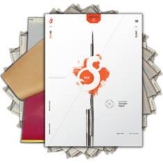 S8 RED TATTOO STENCIL PAPER