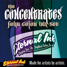 The Concentrates Four Colors Ink Set