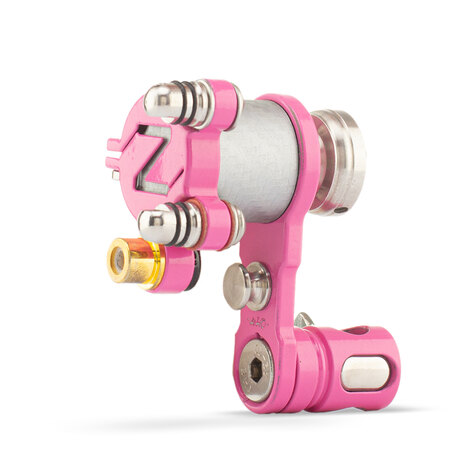 """Bright Pink Aluminum """"Z"""" Rotary - One-off"""