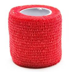 Medical Cohesive Wrap Red