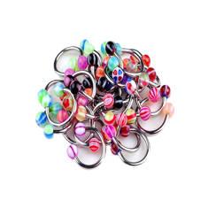 Циркуляр с акриловыми разноцветными шариками
