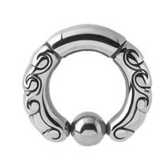 Кольцо фигурное №1, диаметр 13мм, толщина 4мм