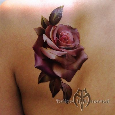 Флэши, принты, наклейки Realistic Rose