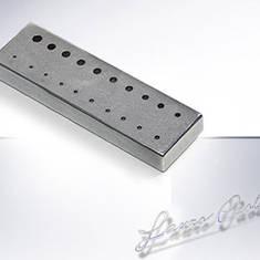 Алюминиевый кубик для пайки игл