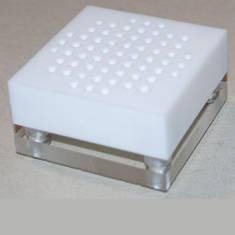 Кубик для пайки игл фторопласт