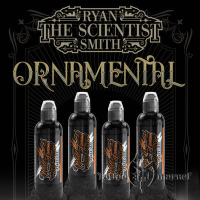 RYAN SMITH - ORNAMENTAL INK SET - 4шт
