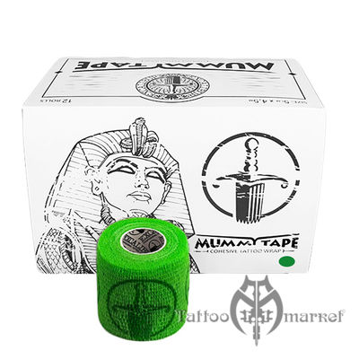 Tattoo Wrap Green Mummy Tape