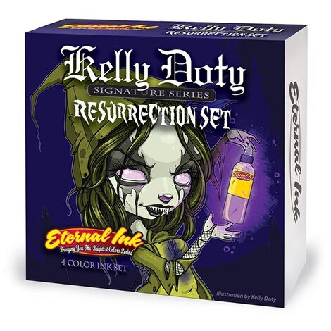 Kelly Doty Resurrection Set 4 Colors