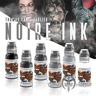 THOMAS CARLI JARLIER NOIRE INK SET