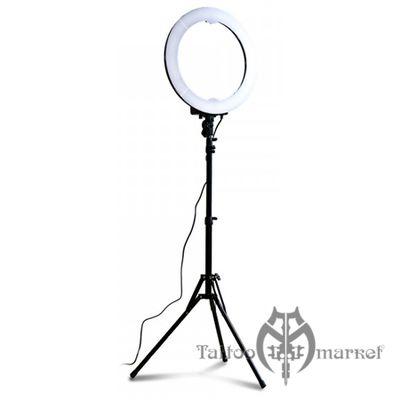 Круговая лампа с регулировкой яркости и температуры света