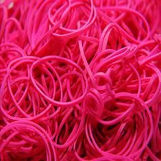 Pink Rubber Bands - резинки бандажные 1000 шт.