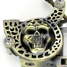 Skull Design Tattoo Machine