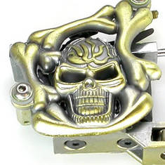 Skull n Bones Design Tattoo Machine