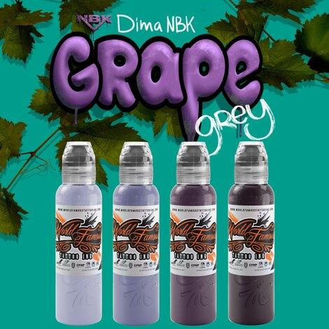 Dima NBK Grape Grey set 4шт