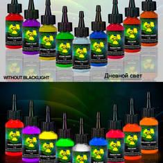 MOM Nuclear Colors UV Tattoo Ink 9 Bottle Set - набор 9 ультрафиолетовых красок