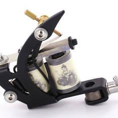 Basic Tattoo Machine with Black Frame