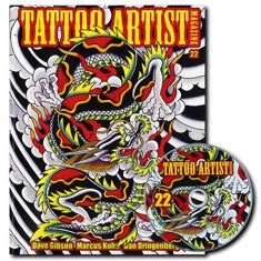 Tattoo Artist Magazine 22 W/DVD