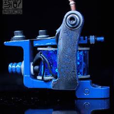 Custom Mini BullDog - Old Style - Blue