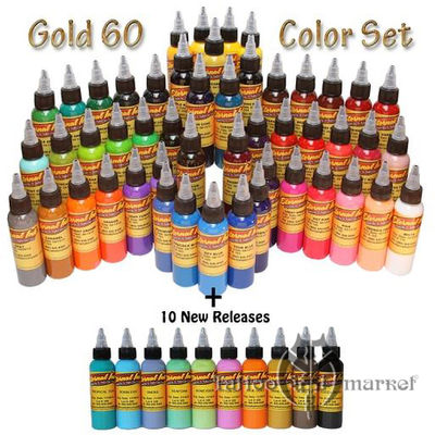 Gold Set 60 Colours